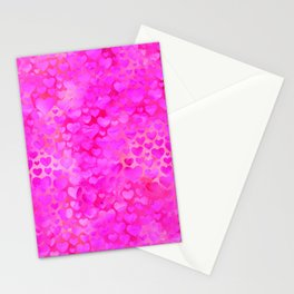 Heart Pattern 04 Stationery Cards