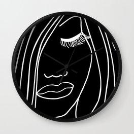 Onyx Portrait Wall Clock