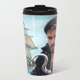 The Captain Metal Travel Mug