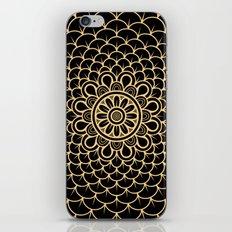 Golden Mandala iPhone & iPod Skin