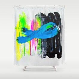 Paint it black I Shower Curtain