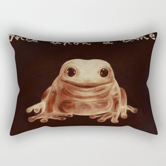 Fuzzy prince Rectangular Pillow