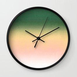 Apple , Ombre Wall Clock