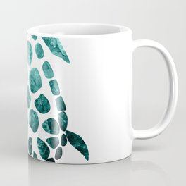 Minimal Sea Turtle #2 #animal #decor #art #society6 Coffee Mug