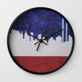 A Tribute In Light Wall Clock