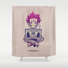 Eye Opener Shower Curtain