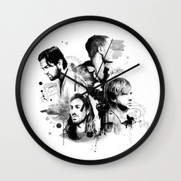 Imagine Drgons Wall Clock