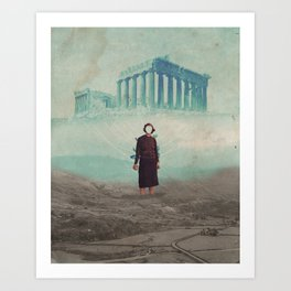Mrs. Loneliness Art Print