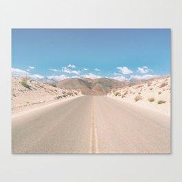 CA Desert Canvas Print