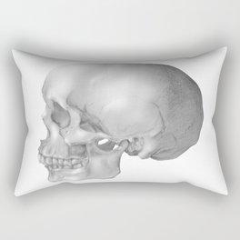 Human Skull Rectangular Pillow