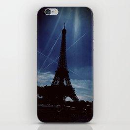 Dark Eiffel Tower iPhone Skin
