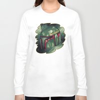 boba fett Long Sleeve T-shirts featuring Boba Fett by Cargorabbit