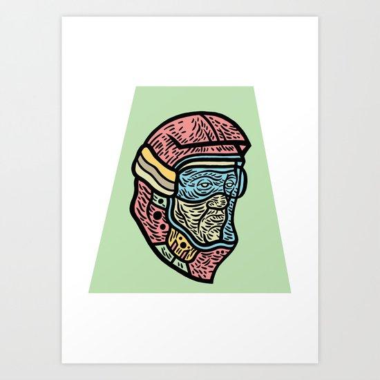 Future BMX Art Print