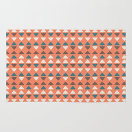 Triangles + Dots Rug