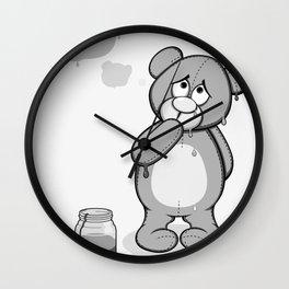 Critter Alliance - Teddy Day Trip Wall Clock