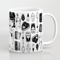 loll3 Mugs featuring teen Witch by lOll3