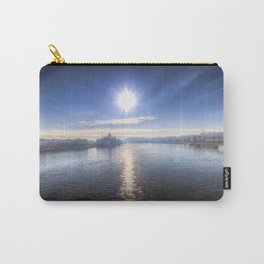 Budapest City View Carry-All Pouch