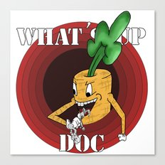 What's Up Doc Canvas Print