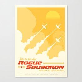 Rogue One StarWars Propaganda Poster Canvas Print