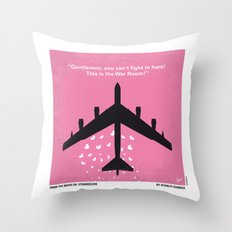 No025 My Dr Strangelove minimal movie poster Throw Pillow