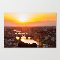 florence Canvas Prints featuring Florence by Wei Wong
