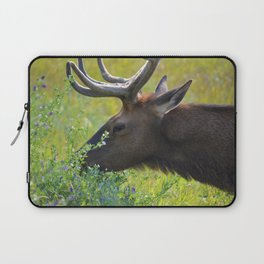 Elk like flowers too Laptop Sleeve