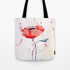 Poppy no 1 Tote Bag