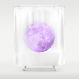 LAVENDER MOON Shower Curtain