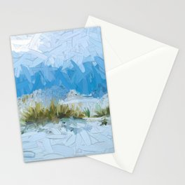 White Sands New Mexico Abstract Stationery Cards