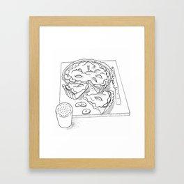 Banoffee Pie Framed Art Print