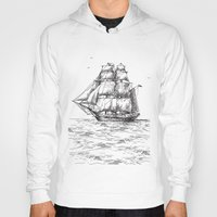 marine Hoodies featuring marine by ismailburc