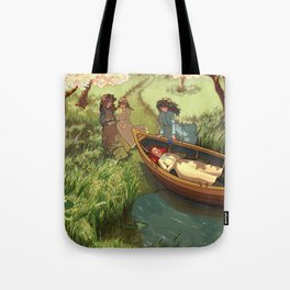 An Unfortunate Lily Maid Tote Bag