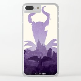 Maleficent (II) Clear iPhone Case