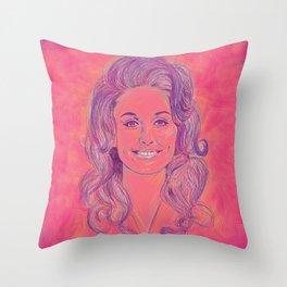 Queen Dolly Throw Pillow