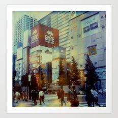 Tokyo Dreaming Art Print