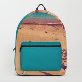 Malaga Beachfront, Spain Travel Artwork Backpack