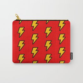 Cartoon Lightning Bolt pattern Carry-All Pouch