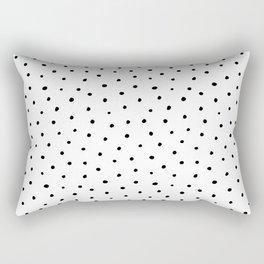Polka Dots in Love Rectangular Pillow