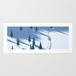 Winter sunshine II Art Print