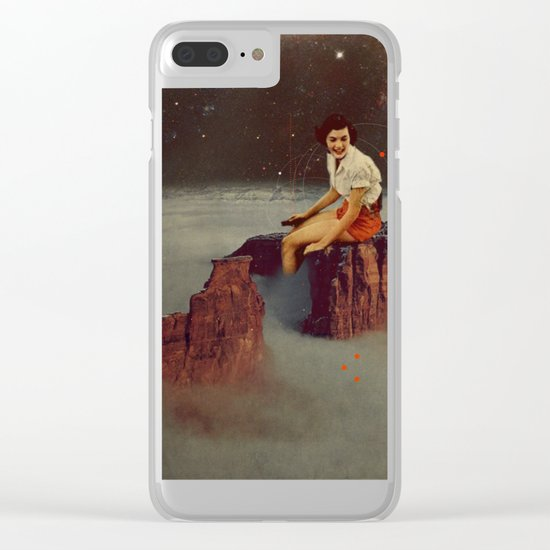 Only Hope Up Here Clear iPhone Case