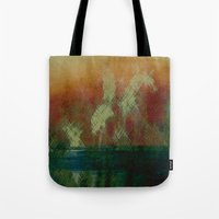 oasis Tote Bags featuring Oasis by Fernando Vieira