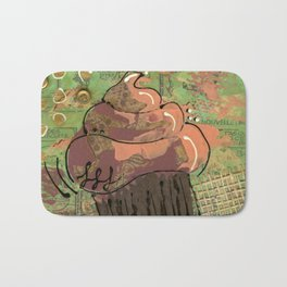 Golden Buttons Bath Mat