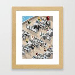 Open Space Framed Art Print