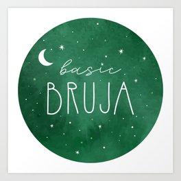 Basic Bruja Art Print