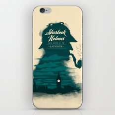 Elementary, my dear Watson. iPhone & iPod Skin