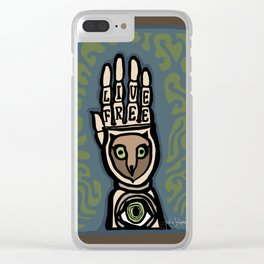 In Celebration of Freehand Clear iPhone Case