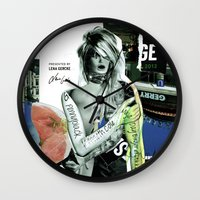 brand new Wall Clocks featuring The Brand New Look by Marko Köppe