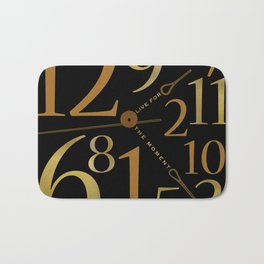 Live For The Moment Bath Mat