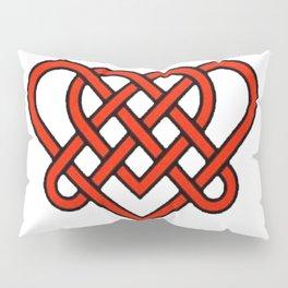 Celtic He Loves Me He Loves Me Knot Pillow Sham