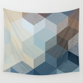 CUBE 3 SAND Wall Tapestry